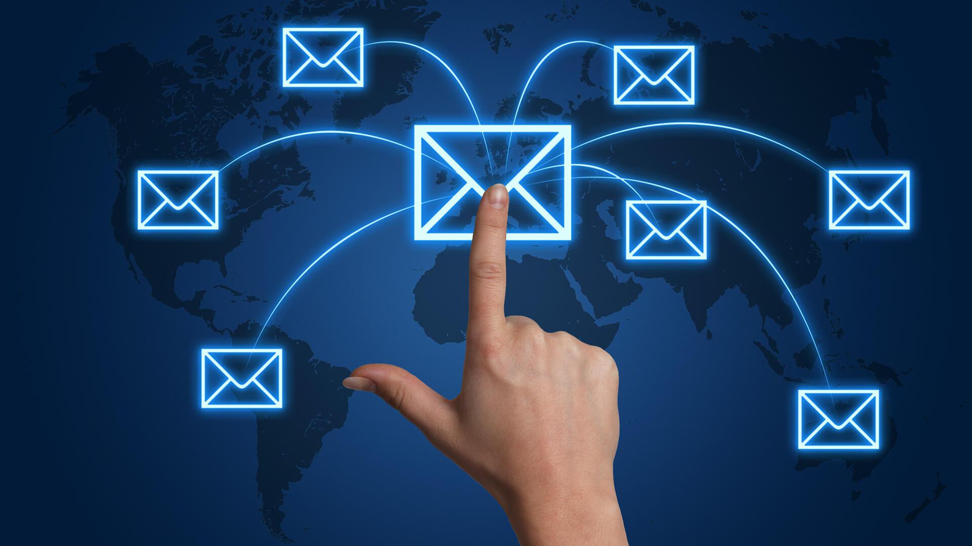 Service de messagerie