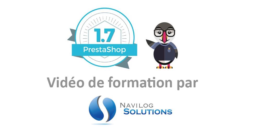 Formation Prestashop 1.7